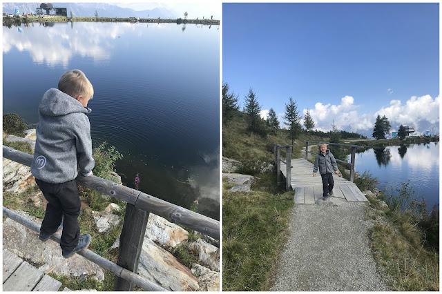 Reiteralm Junior BikeTrail Sommer 2018 Wanderurlaub mit Kindern Jules kleines Freudenhaus