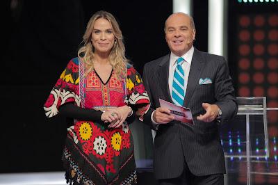 Lígia Mendes e Marcelo de Carvalho - Crédito/Foto: Artur Igrecias/Divulgação RedeTV!