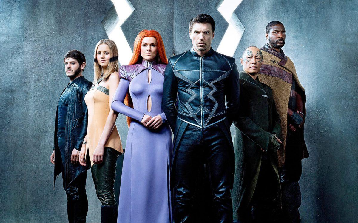 Fotografía del reparto principal de 'Inhumans'