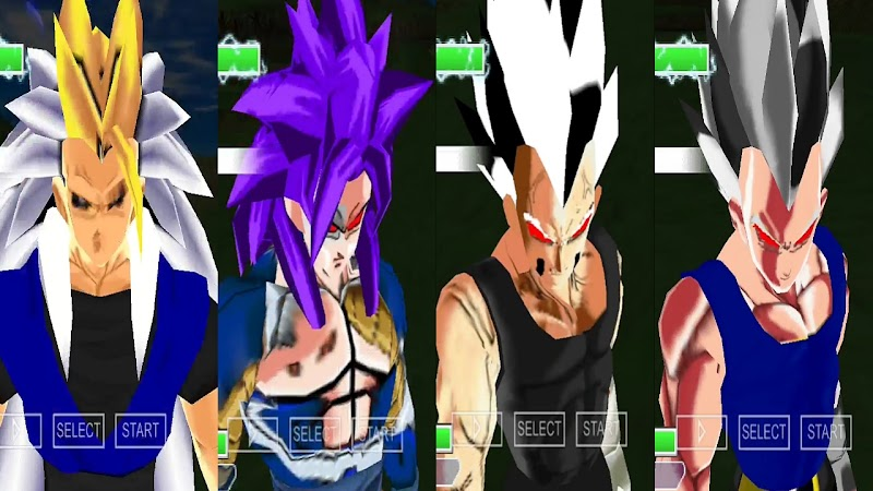 Android Game Dragon Ball Z AF MOD PSP