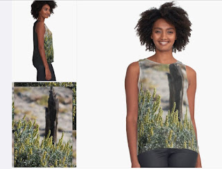 Closeup Of Wildflowers Portrait Coachella Preserve Sleeveless Top