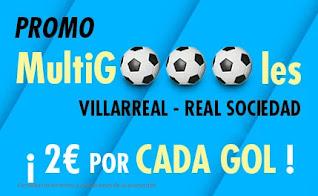 suertia promo Villareal vs Real Sociedad 30-1-2021