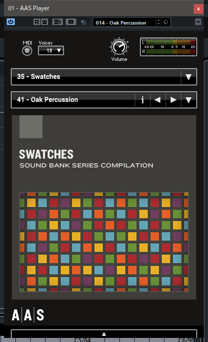 AAS (Applied Acoustics Systems) - AAS Player & Swatches +