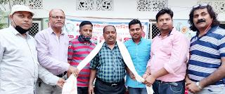 शहर को स्वच्छ बनाने में सफाई कर्मियों का अहम योगदानः शुभांशू  | #NayaSaberaNetwork