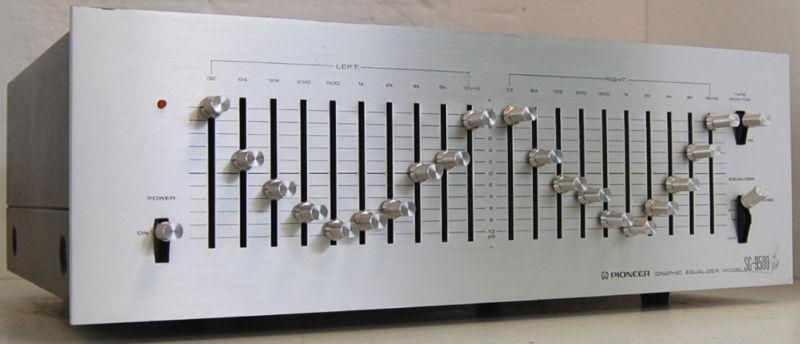 Rewind Audio 70s Pioneer Sg 9500 2 Ch 10 Band Graphic Eq