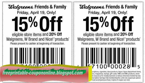 Walgreens Promo Codes & Coupons