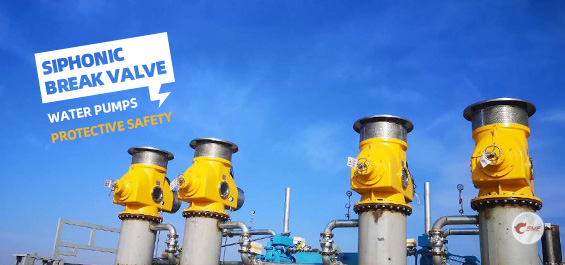 The siphon breaker valve from SME Industry