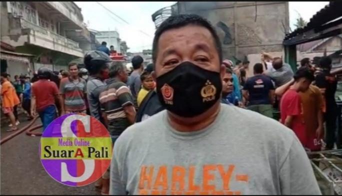 Polsek Talang Ubi Akan Menyelidiki Kebakaran Pasar Pendopo PALI