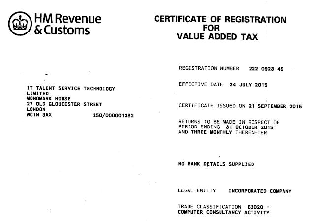 英国注册公司与营业税 (VAT) 准备流程