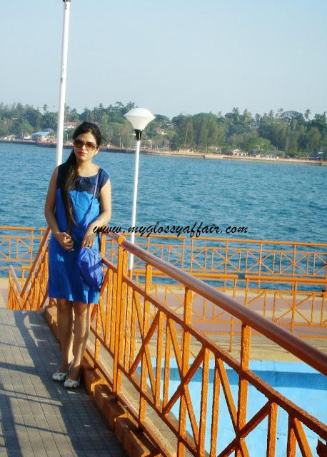 OOTD blue dress