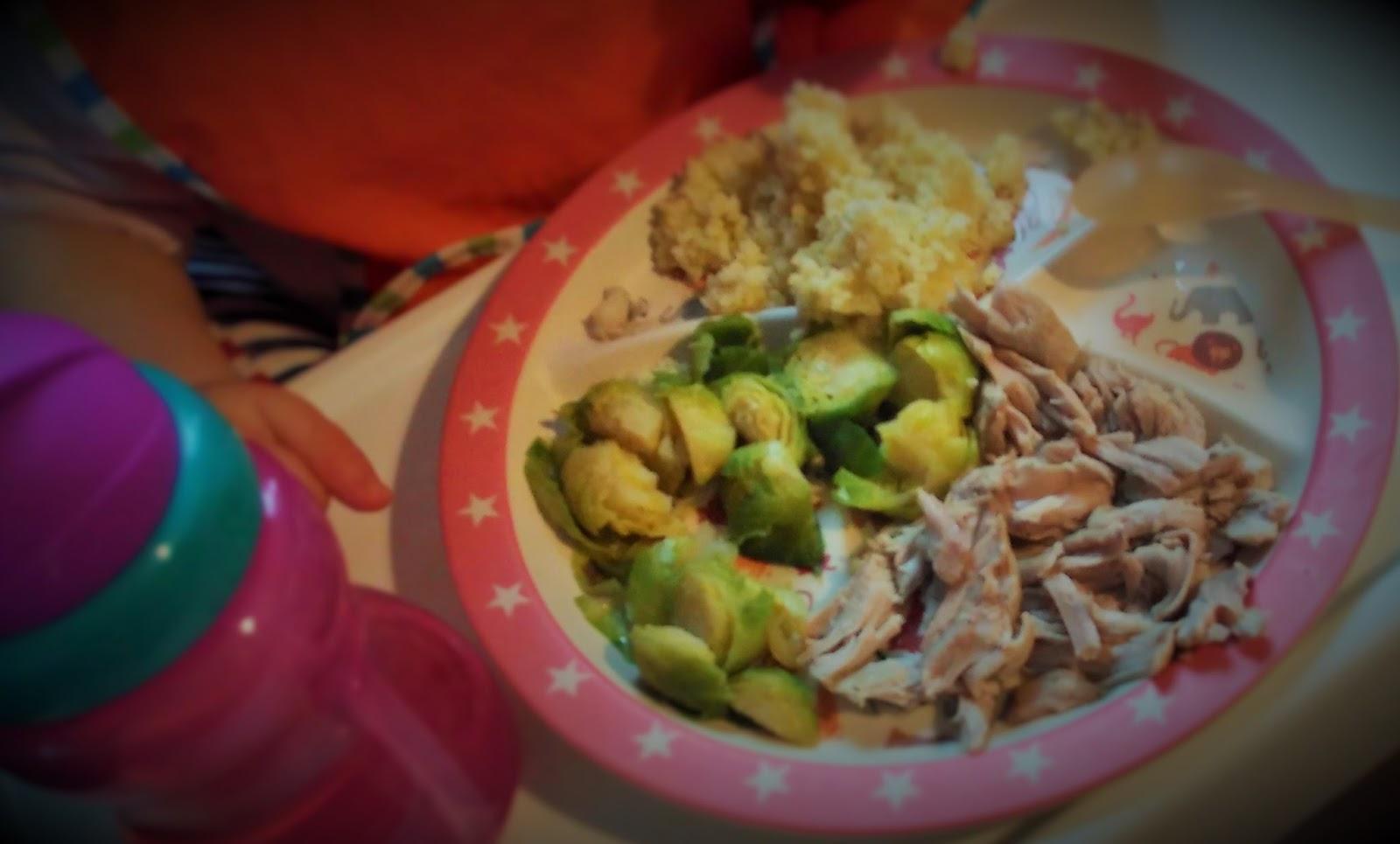 Dobre Zycie Lisi Obiad Dla Mamy I Rocznego Niemowlaka Gotowane
