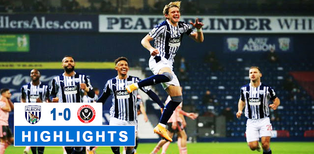West Bromwich Albion vs Sheffield United – Highlights