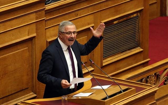 Γ. Μανιάτης: Μνημονιακός προϋπολογισμός, εσώκλειστη κυβέρνηση διχασμού, ηλικιακά νέος αλλά πολιτικά γερασμένος Πρωθυπουργός