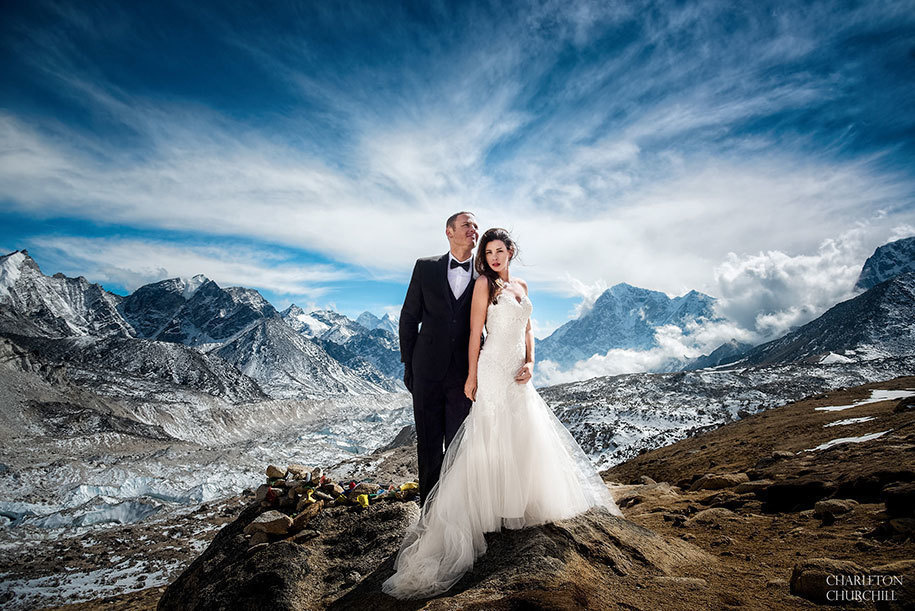 best of the best travel to married on everest