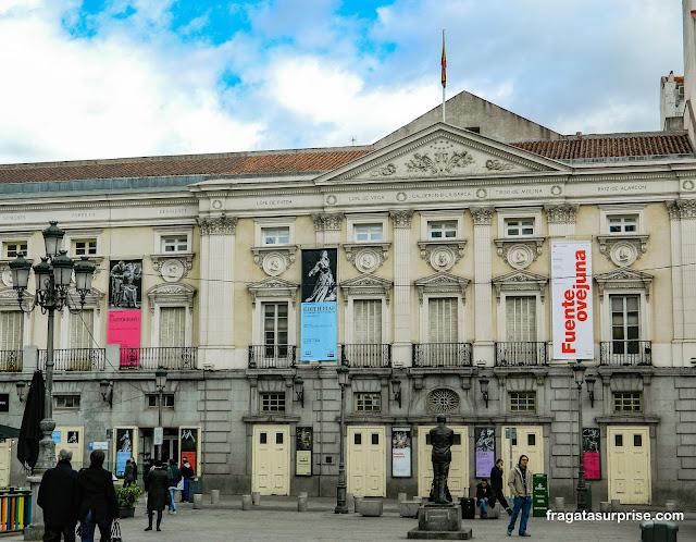 Madri: Teatro Español, Plaza de Santa Ana