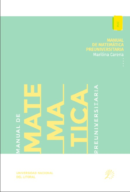 Manual de matemática preuniversitaria en pdf
