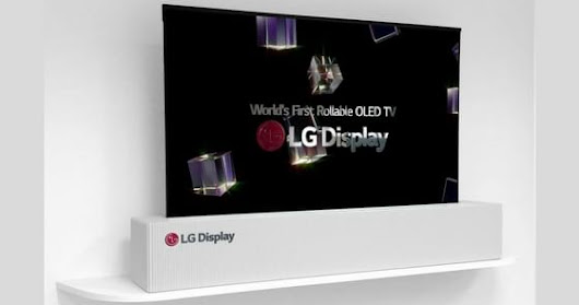 LG showcases 65-inch rollable OLED TV at CES
