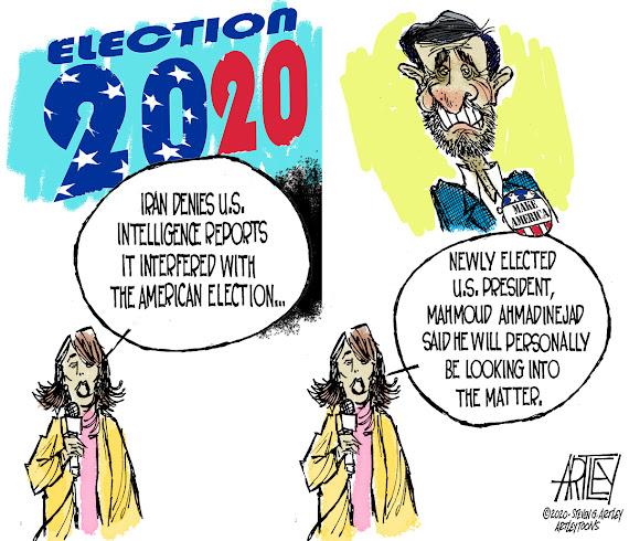 Editorial Cartoon by Steven G Artley