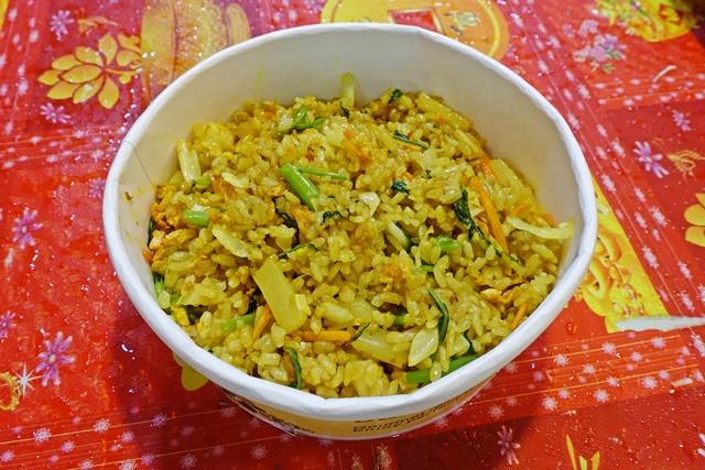 錦發師日式蔬食咖哩炒飯