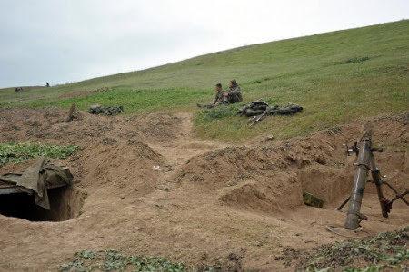 Disparos en la línea de contacto Artsaj-Azerbaiyán