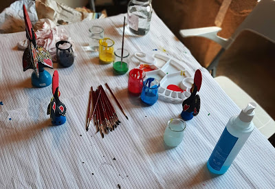 mesa de pinturas em Barcelos