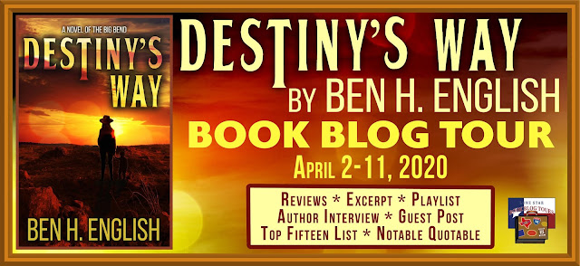Destiny's Way book blog tour promotion banner