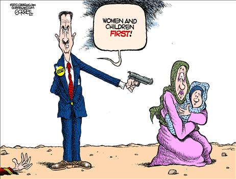 "President Assad, ""The Butcher of Syria""  TRUMP LAND aka ..."