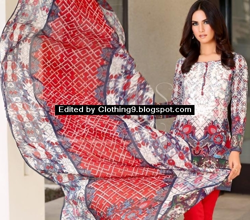 6c8ec11ee1 Each lawn dress was exemplary modification blended into contemporary and  classic arts. Below is most exclusive riffat and sana images presented in  lawn ...