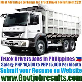Meat Advantage Exchange Inc Truck Driver Recruitment 2021-22