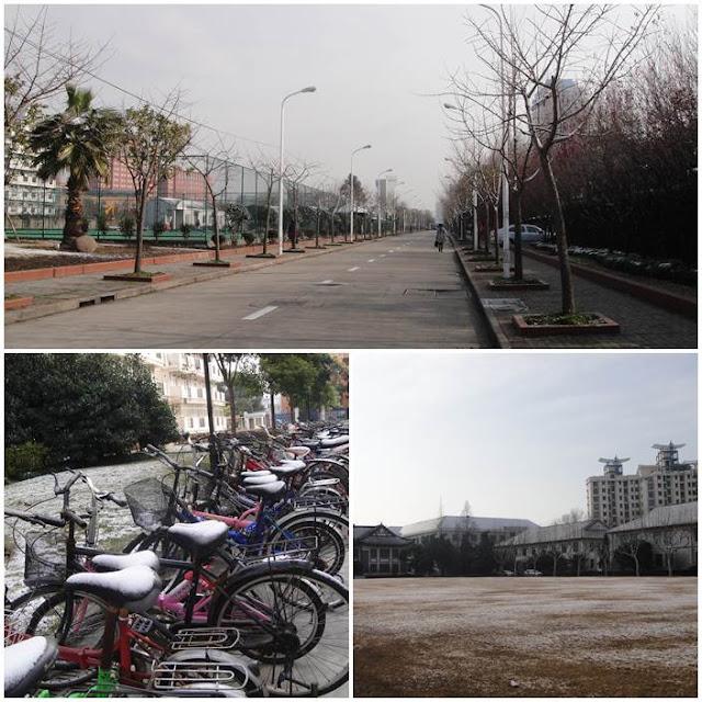 復旦交換日記: WEEK 15 復旦雪景&上海1933老場坊