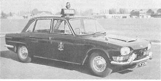 Police Triumph 2000 - October 1964