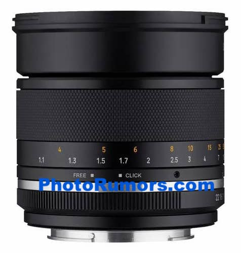 Samyang MF 85mm f/1.4 II