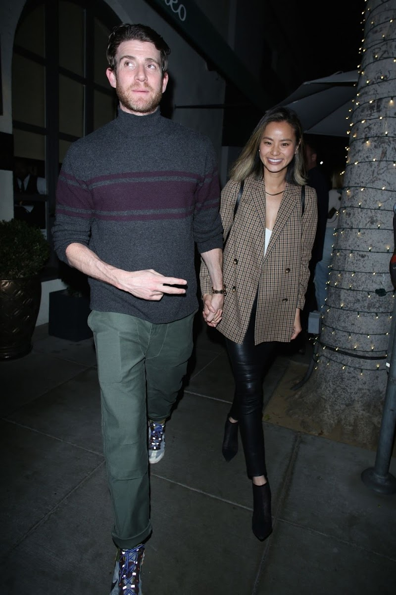 Jamie Chung and Bryan Greenberg Clicks at Madeo Restaurant in Beverly Hills 26 Feb-2020