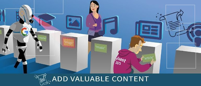 Add Valuable Content