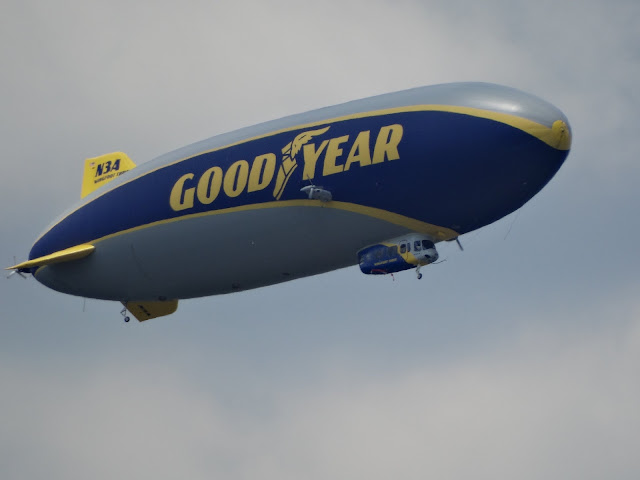 Goodyear Blimp by Anthony McCune, Stark County, Ohio News and Views