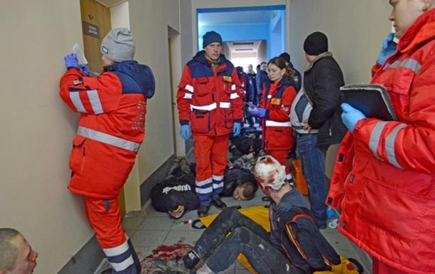 Штурм міськради Жмеринки: затримано 19 осіб