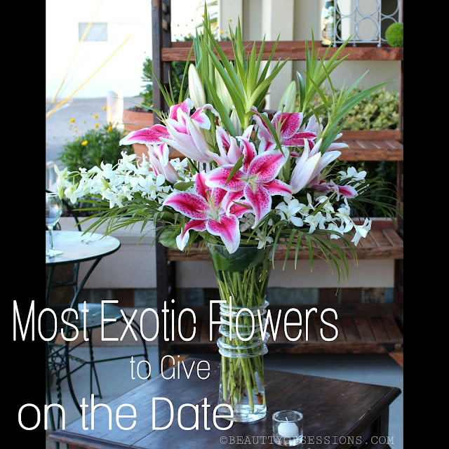 Most Exotic Flowers to Give on the Date