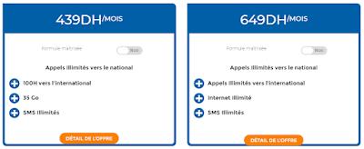 Forfait Illimité Mobile Maroc Telecom