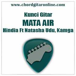 KAGMA Kord Lagu Dasar Mudah Versi Original Chord HINDIA - MATA AIR Feat Natasha Udu, Kagma