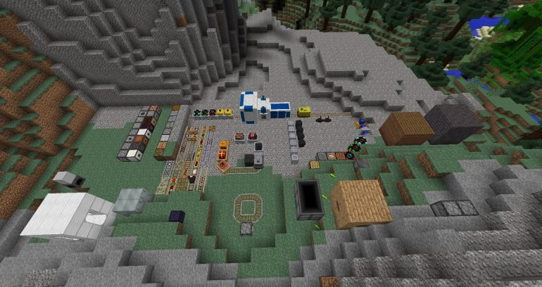 RailCraft and Steve's Carts 2