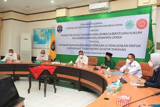 Pemkot Sepakati Kerja Sama Dengan LBH Muhammadiyah dan Grab