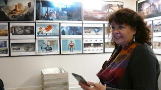Donna Davis during filming of Our Digital Selves