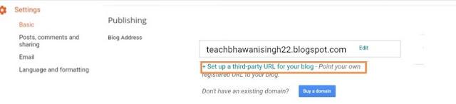 blog me domain name kaise add kare, godaddy domain kaise add kare