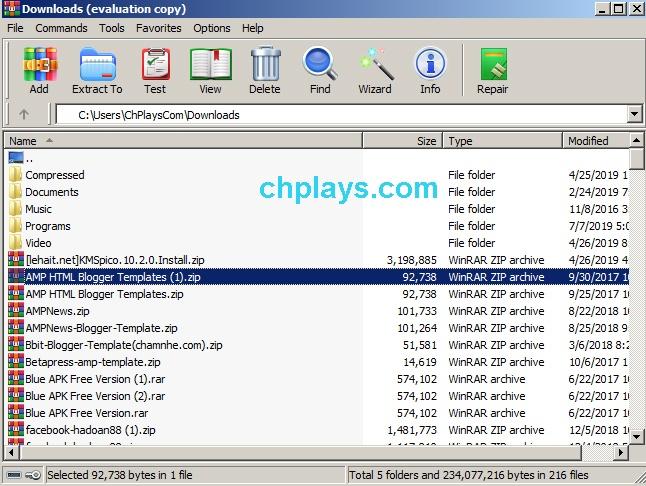Download WinRAR - Nén, giải nén File RAR, ZIP Full miễn phí 5