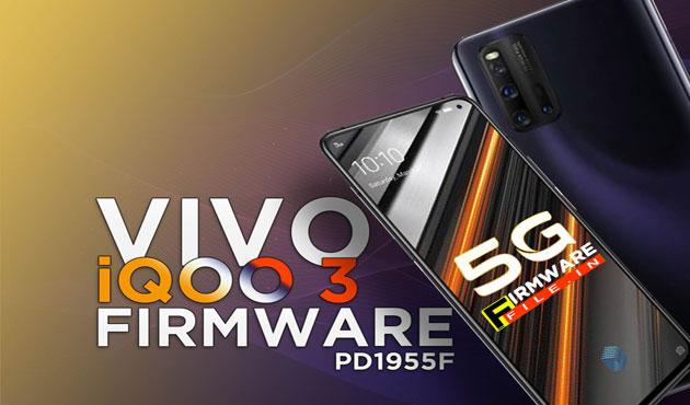 Vivo iQOO 3 5G Firmware
