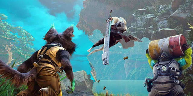 See how Biomutant runs on all platforms (PC, PS4, XBO)