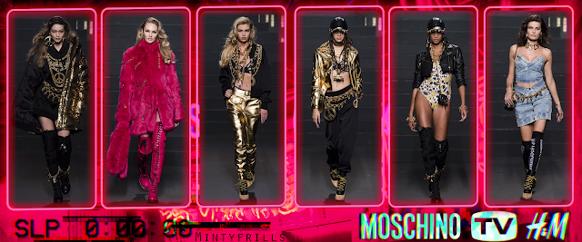 moschino tv hm H&M collab fashion collection release Mintyfrills