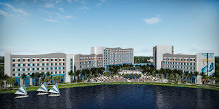 """Universal's New """"Endless Summer"""" Resort is Rising Fast"""