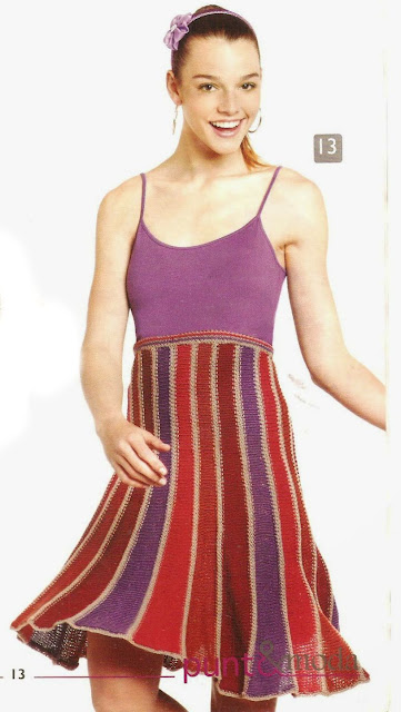 Patrón #1520: Vestido a Dos Agujas