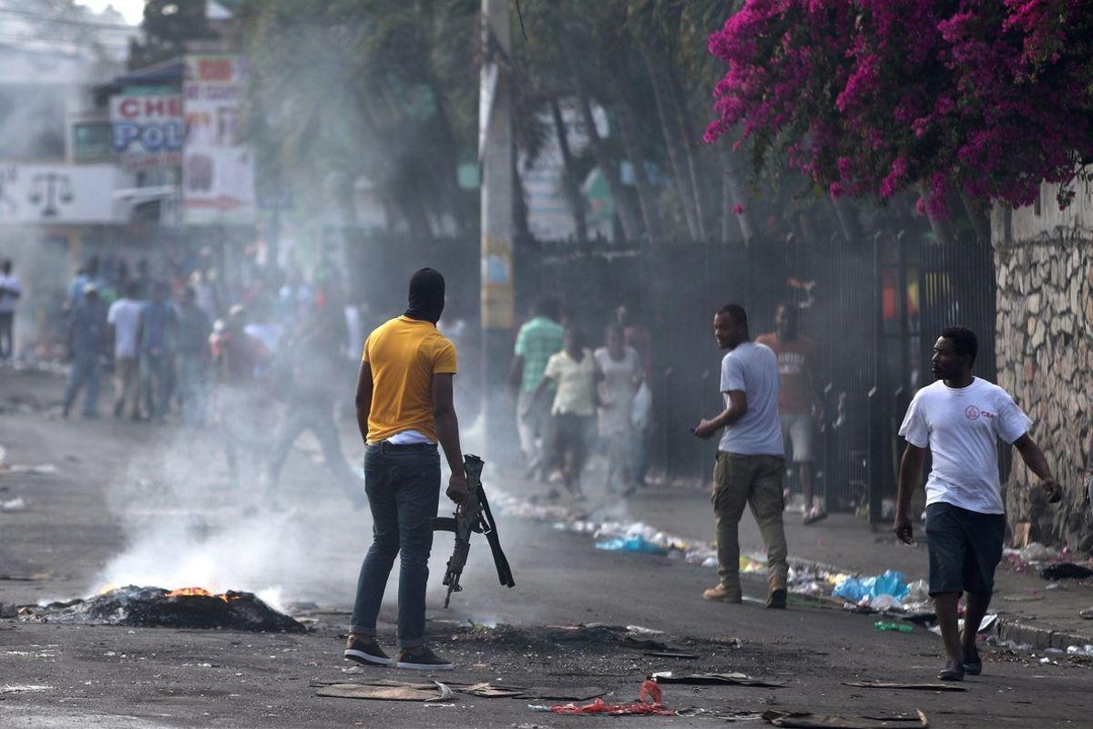 Violencia en Haití